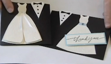 Homemade Wedding Card Video and Template Stamping With Princess